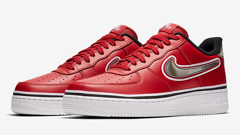 Nike Air Force 1 Low Sport NBA Red