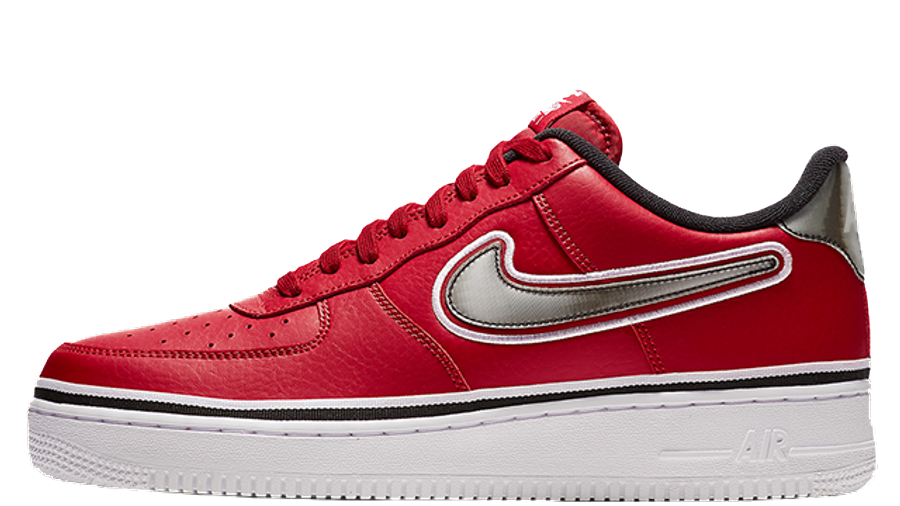 Nike Air Force 1 Low Sport NBA Red | Where To Buy | AJ7748-600 ...