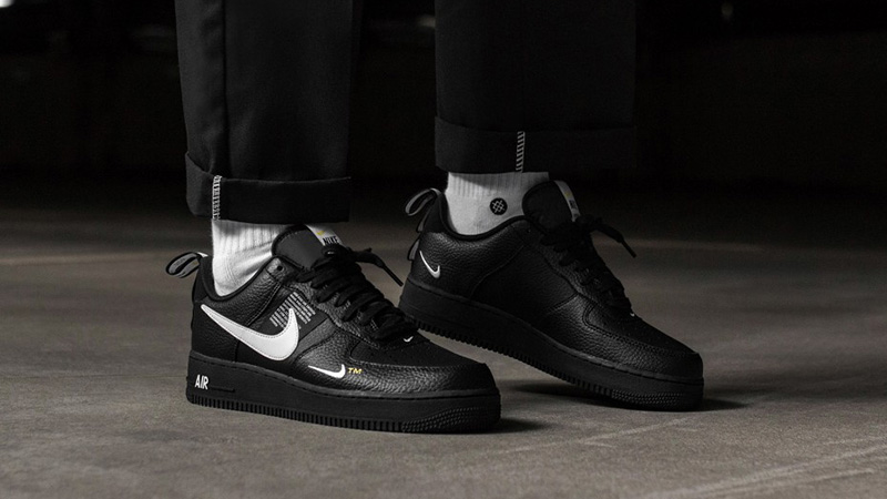 super cheap half off new appearance Nike Air Force 1 Utility Black - Where To Buy - AJ7747-001 | The ...