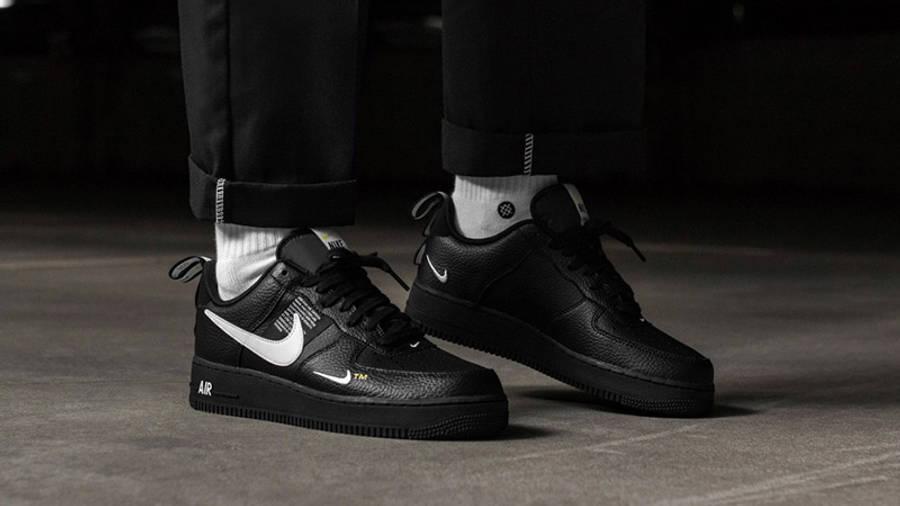 Nike Air Force 1 Utility Black | Where To Buy | AJ7747-001 | The ...
