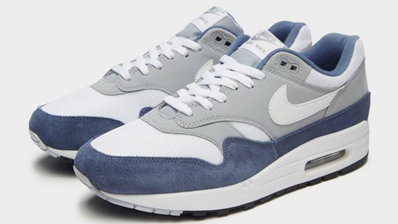 Nike Air Max 1 Grey White Blue JD Exclusive
