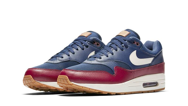 Nike Air Max 1 Premium Navy Red | Where