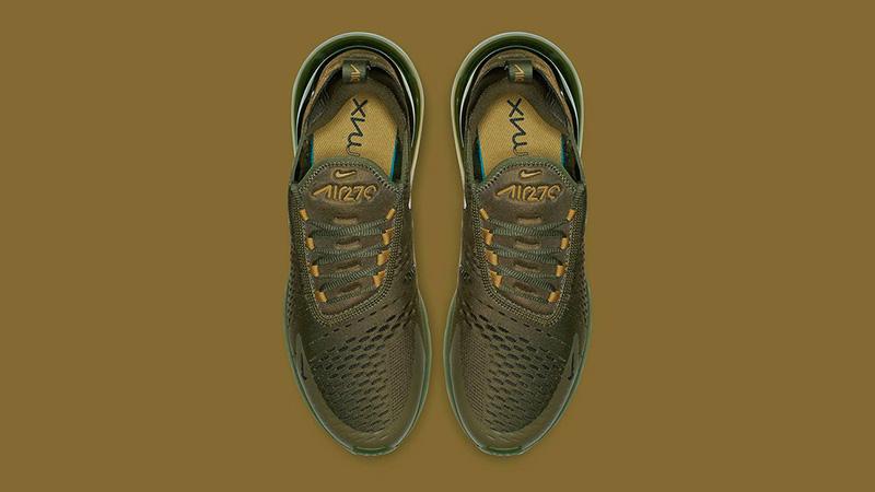 Nike Air Max 270 Triple Olive   Where