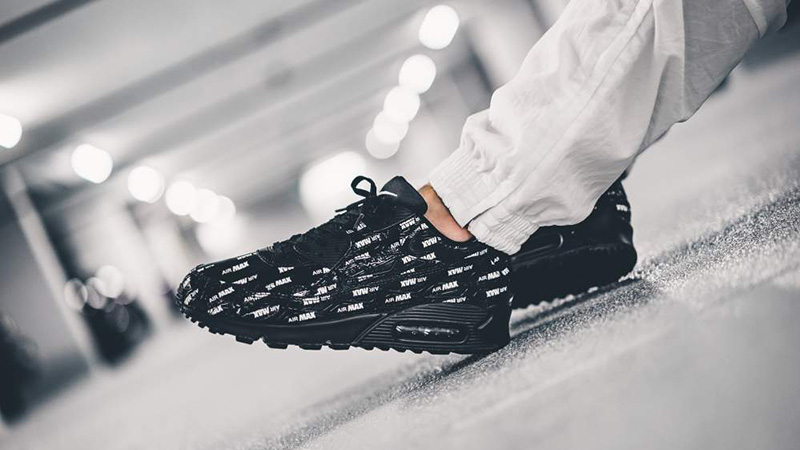 Nike Air Max 90 Premium Just Do It Black