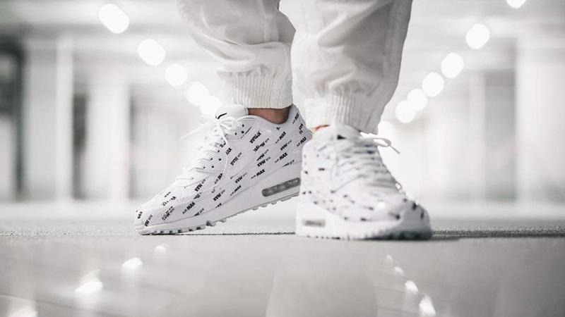 Nike Air Max 90 Premium White & Black | END.
