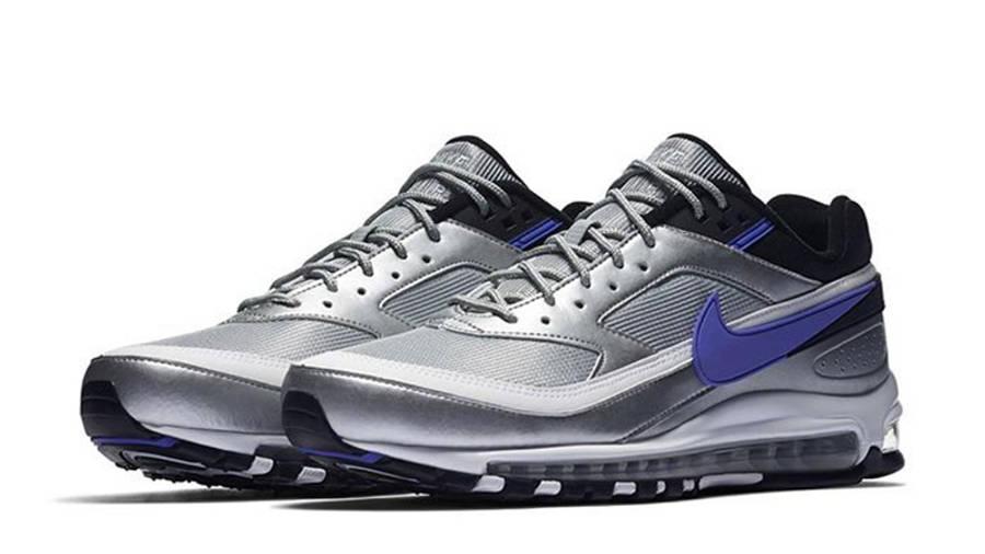 Venta anticipada tenaz niebla  Nike Air Max 97/BW Metallic Silver Violet | Where To Buy | AO2406-002 | The  Sole Supplier