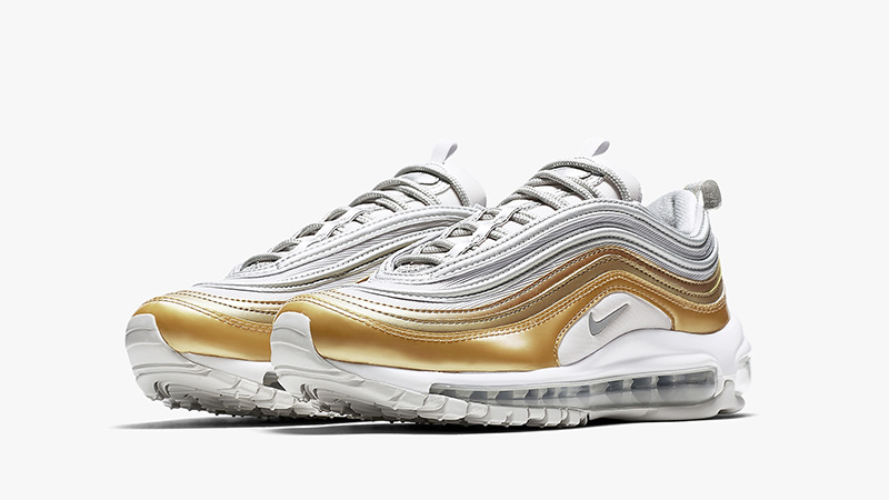 air max silver gold