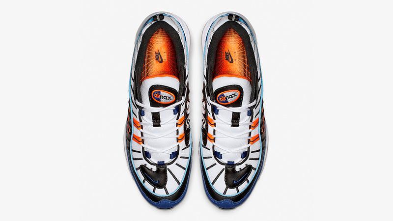 air max 98 blue orange