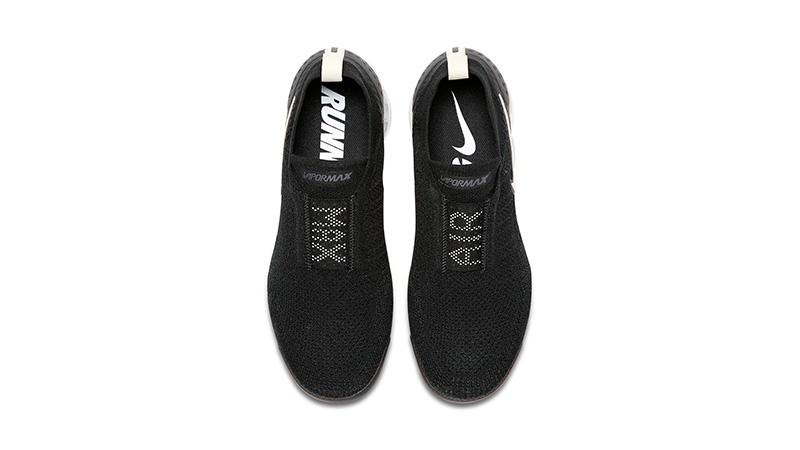 nike vapormax without laces black