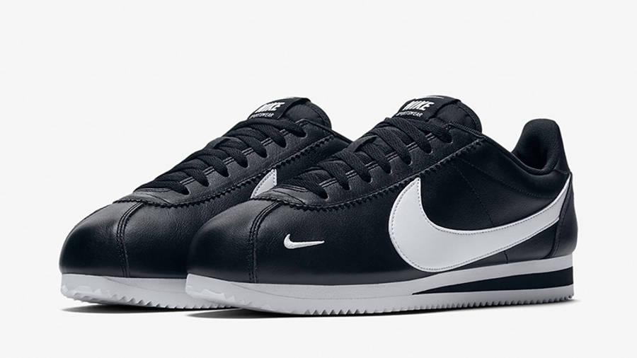 Nike Classic Cortez Premium Black White