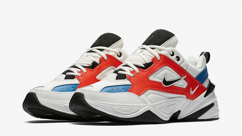 Nike M2K Tekno White Red Blue | Where