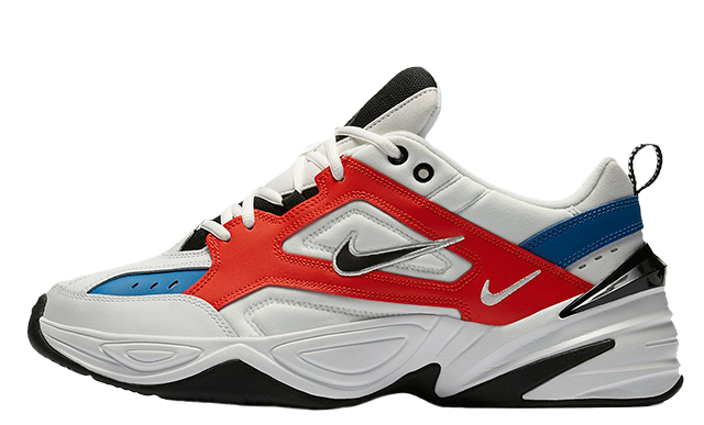 Nike M2K Tekno White Orange Blue AV4789-100