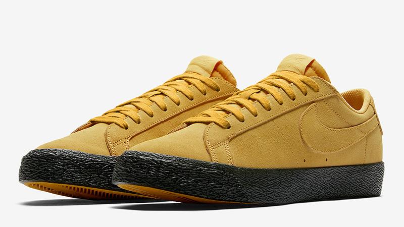 lavandería Tratado Reina  Nike SB Zoom Blazer Low Yellow Black - Where To Buy - 864347-701 | The Sole  Supplier