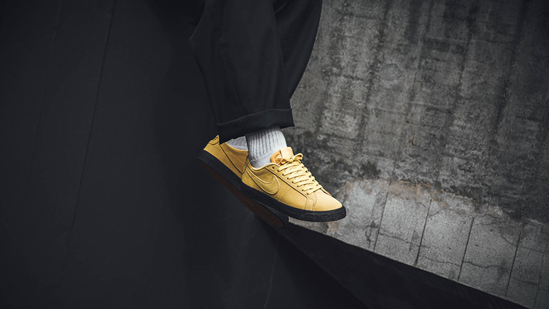 Nike SB Zoom Blazer Low Yellow Black