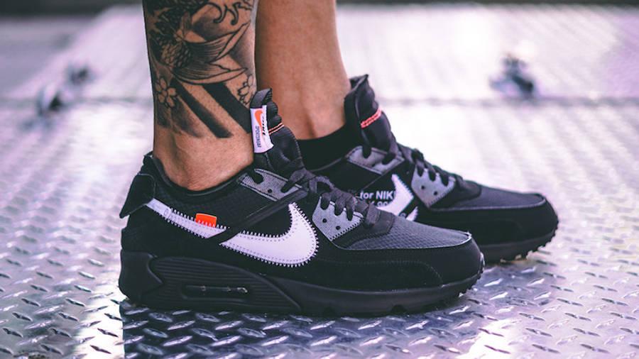 Off-White x Nike Air Max 90 Black | Where To Buy | AA7293-001 ...
