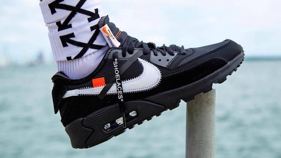Off-White x Nike Air Max 90 Black