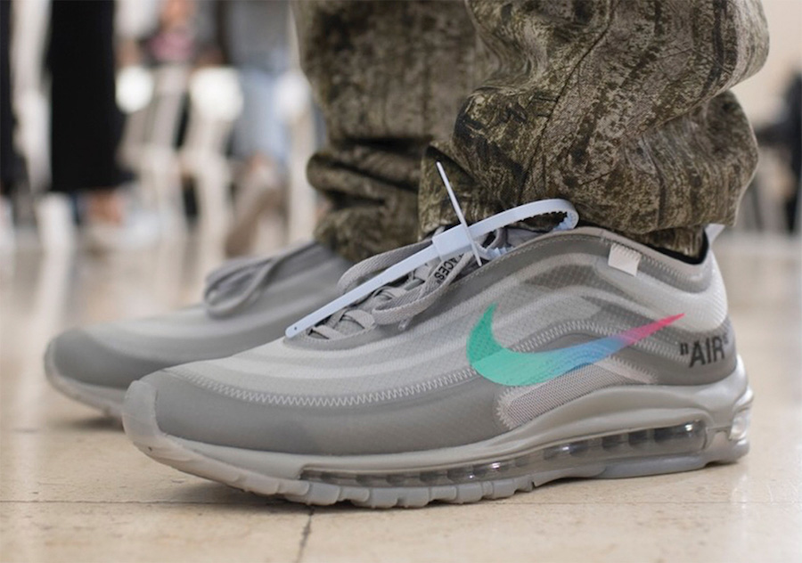 Off-White x Nike Air Max 97 Menta - Where To Buy - AJ4585-101 | The Sole  Supplier