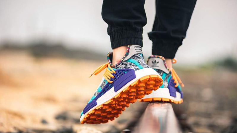 Pharrell X Adidas Afro Nmd Hu Pack Aqua Multi Where To Buy