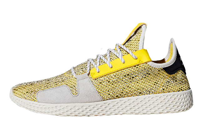 Pharrell x adidas Afro Tennis Hu V2 Yellow BB9543