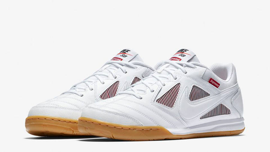 Supreme x Nike SB Gato White | Where To