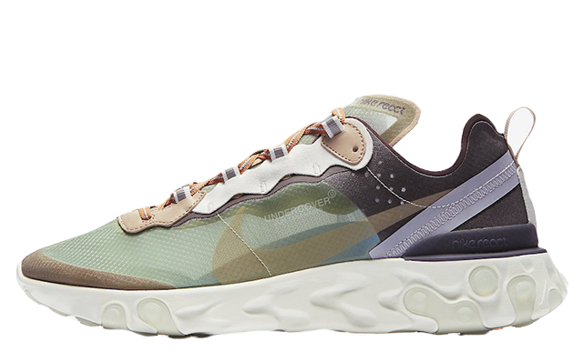 Undercover x Nike React Element 87 Green Black