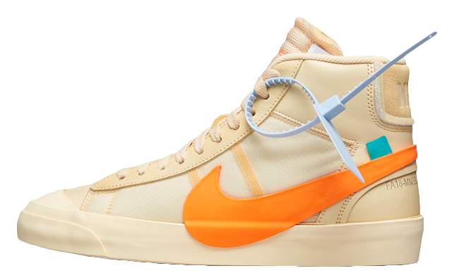 Off-White x Nike Blazer Orange