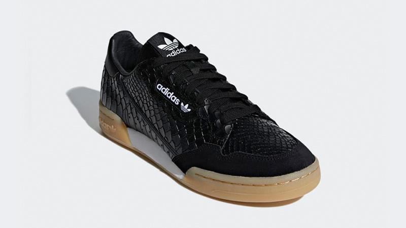 adidas Continental 80 Black Gum