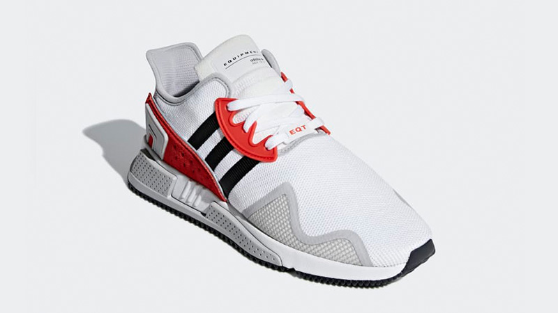 adidas eqt white and red