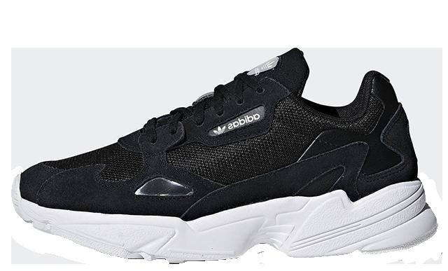 adidas Falcon Black White B28129