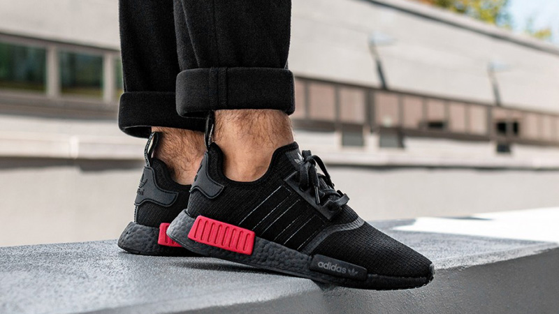 adidas NMD R1 Black Red | Where To Buy