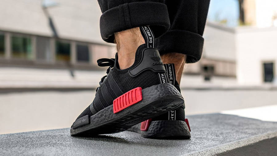 adidas NMD R1 Black Red | Where To Buy | B37618 | The Sole Supplier