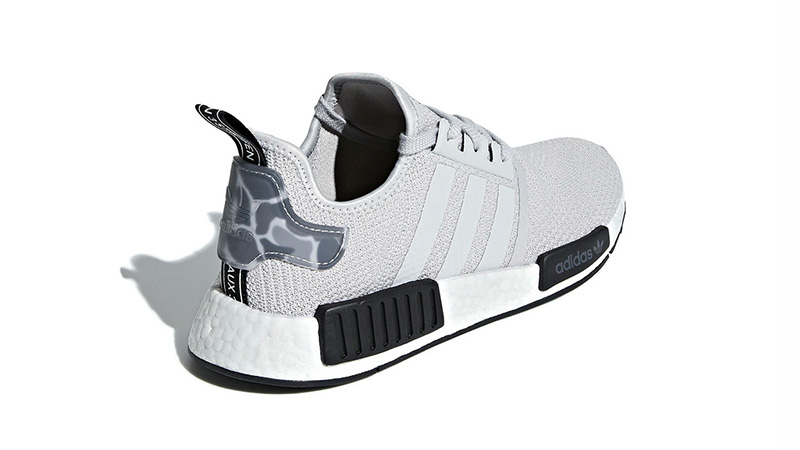adidas NMD R1 Camo Heels Grey 01