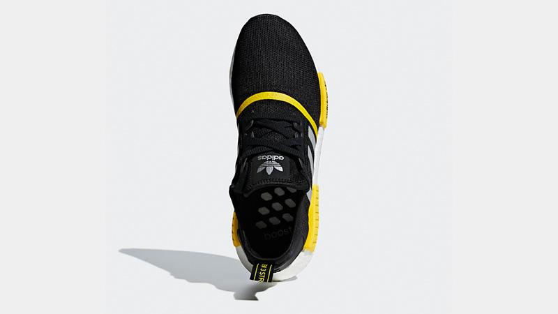 adidas NMD R1 Logo Pack Black Yellow F99713 02
