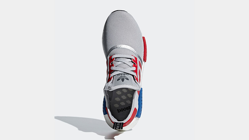 adidas NMD R1 Micropacer Silver Red F99714 02