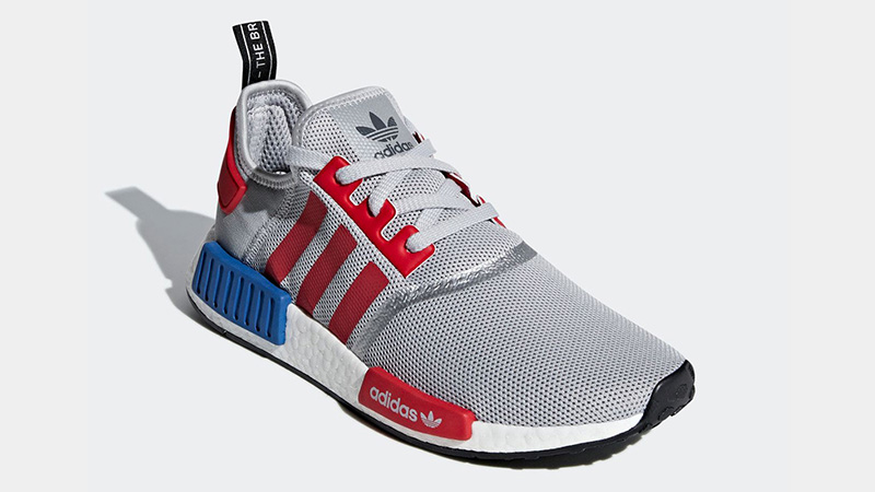 adidas NMD R1 Micropacer Silver Red F99714 03