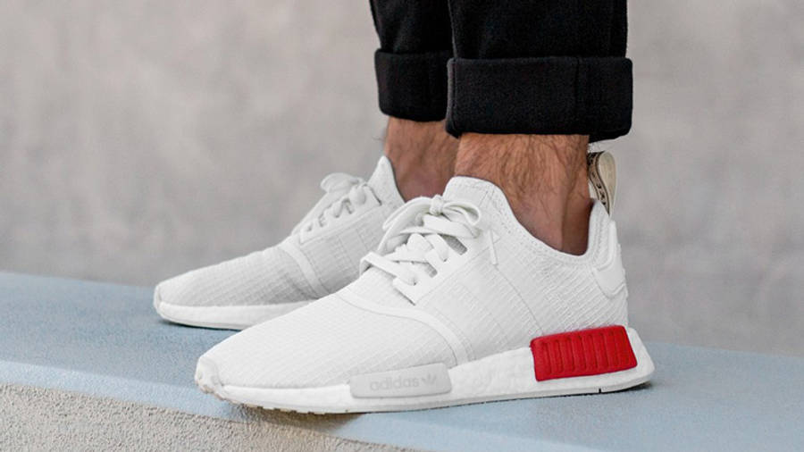 mueble regla construir  adidas NMD R1 White Red | Where To Buy | B37619 | The Sole Supplier