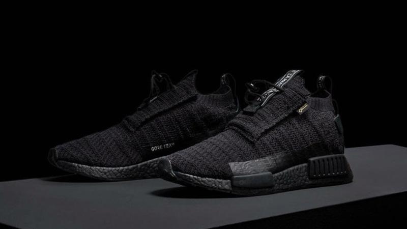 adidas NMD TS1 Gore Tex Triple Black AQ0927 Release Date