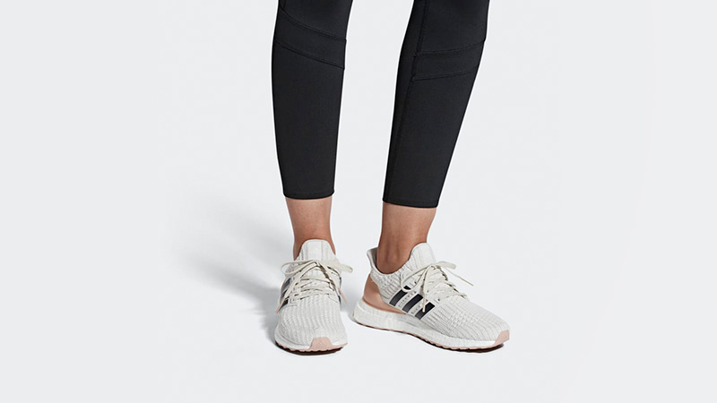 adidas Ultra Boost 4.0 White Carbon
