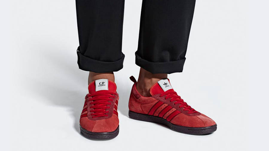 adidas x CP Company Tobacco Red | Where