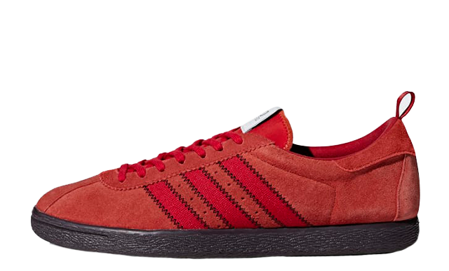 adidas cp company trainers red off 61