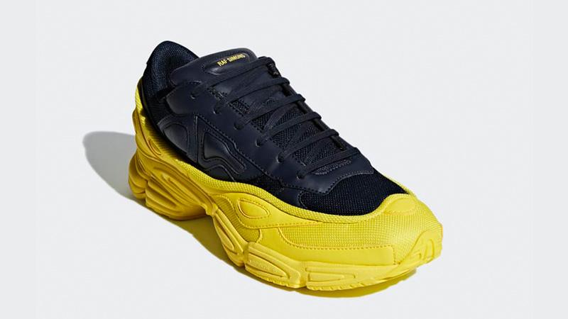 adidas x Raf Simons Ozweego Black Yellow