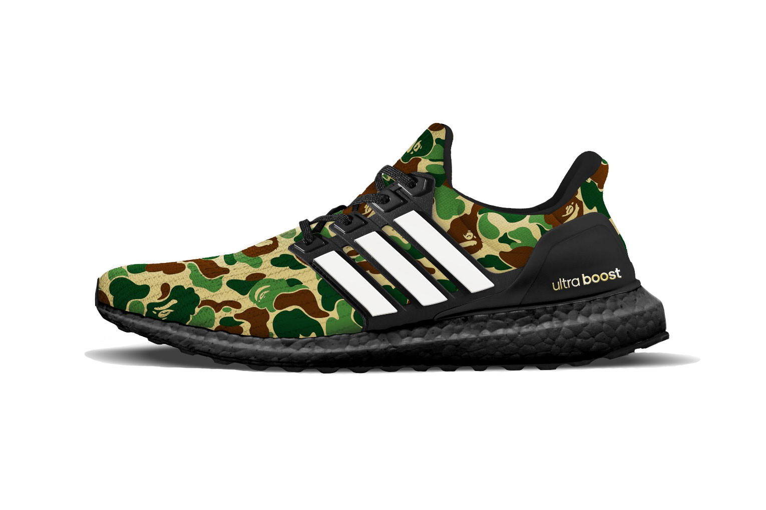 The BAPE x adidas Ultra Boost Gets A Release Date | The Sole