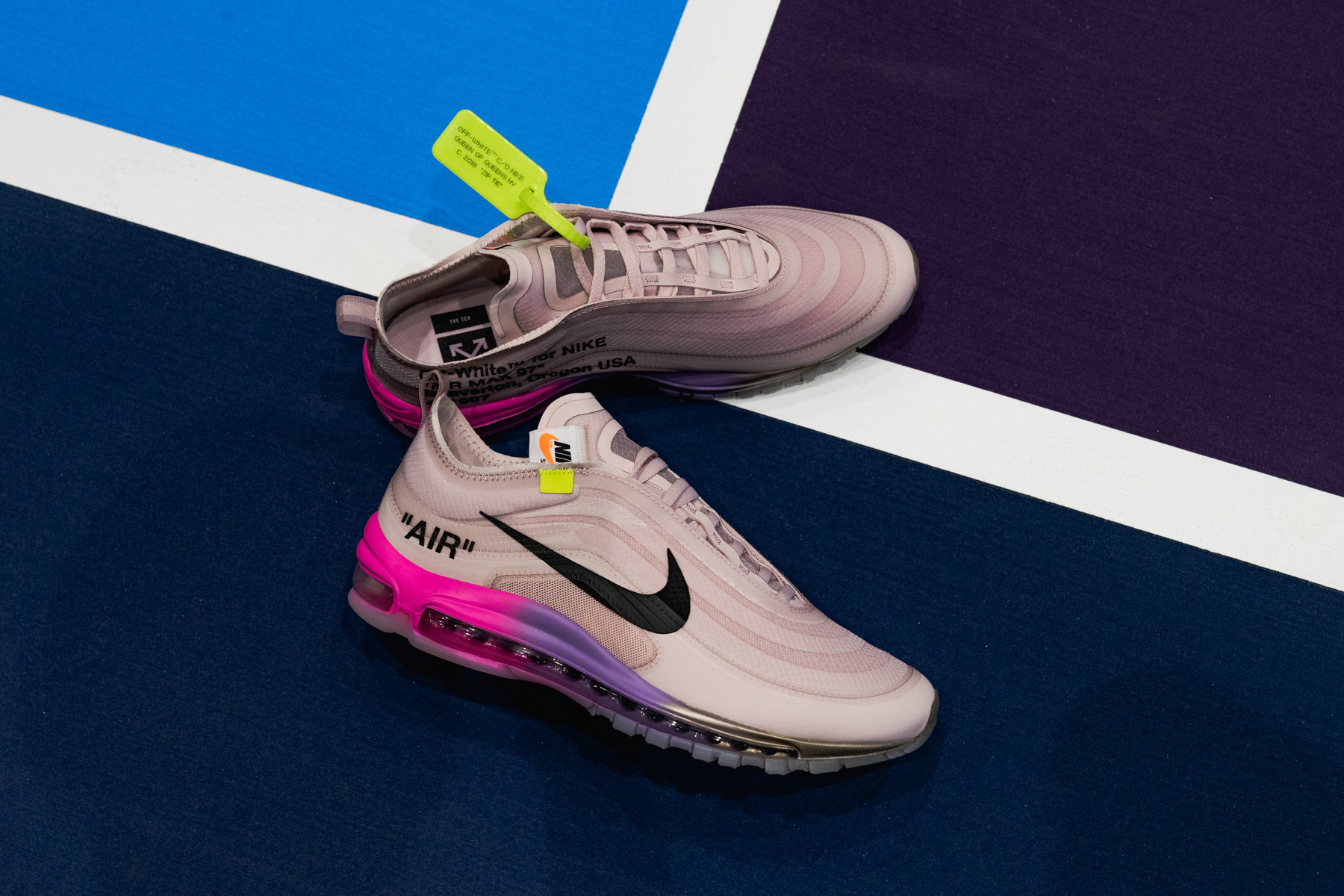 """Off-White x Serena Williams x Nike Air Max 97 """"QUEEN"""" - Where To Buy -  AJ4585-600 