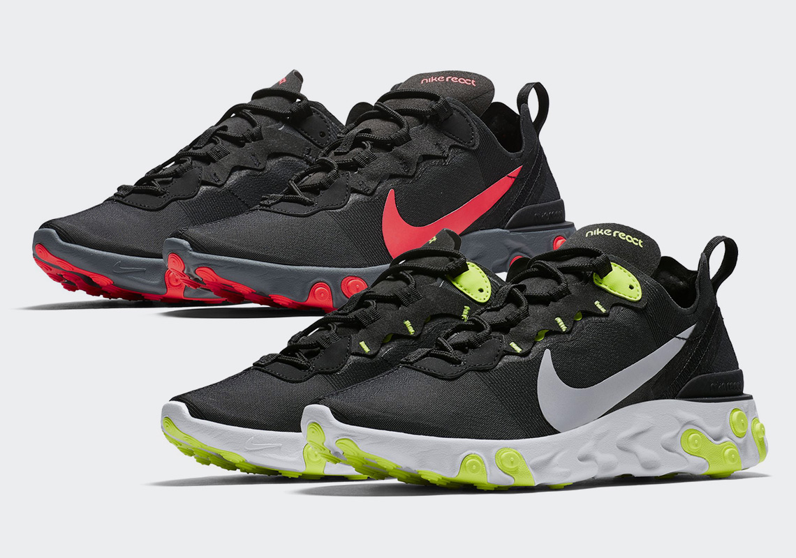 Take A Look At The Brand New Nike React Element 55 | The