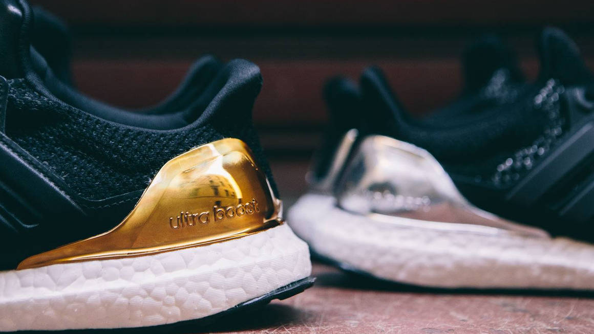 The adidas Ultra Boost 2.0 'Gold Medal