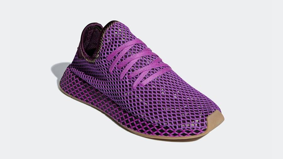 Dragon Ball Z x adidas Deerupt Cell Saga Pack Purple | Where To ...
