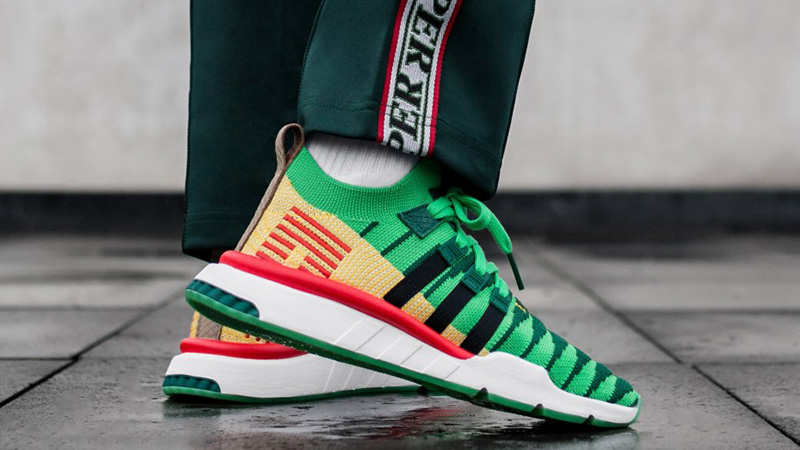 Acción de gracias Ordinario Quemar  Dragon Ball Z x adidas EQT Support Mid ADV Shenron Green | Where To Buy |  D97056 | The Sole Supplier