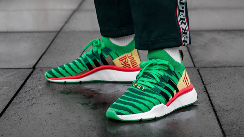 adidas Dragon Ball Z Shenron EQT Green