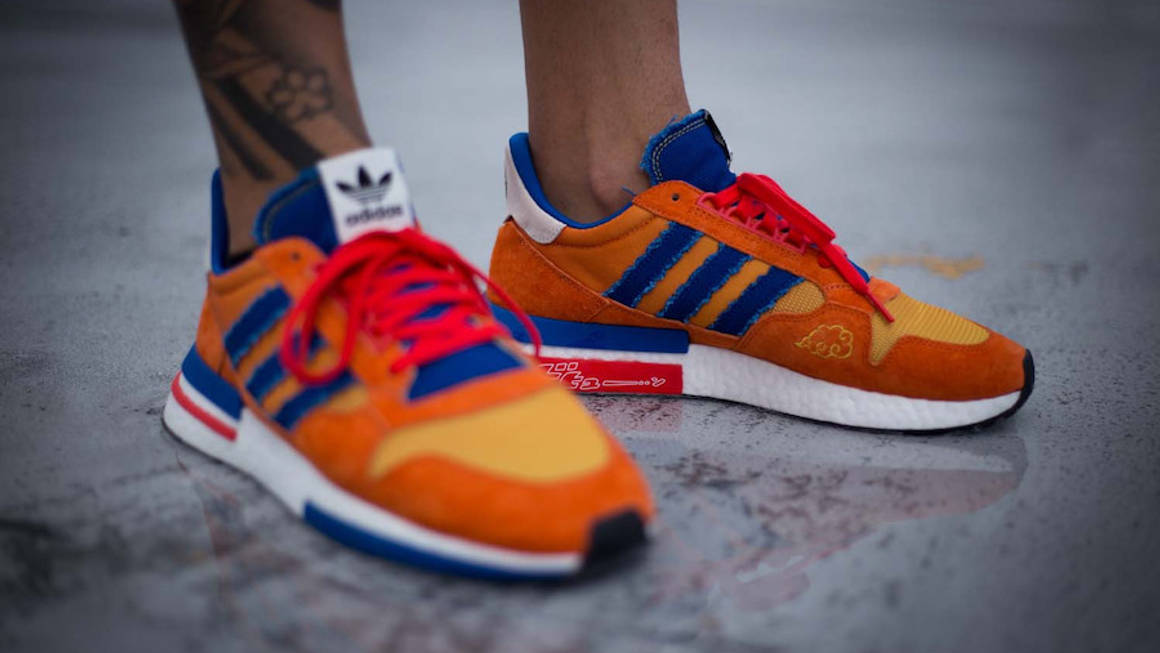 Release Date Confirmed For The Dragon Ball Z x adidas ZX500 RM Goku 3