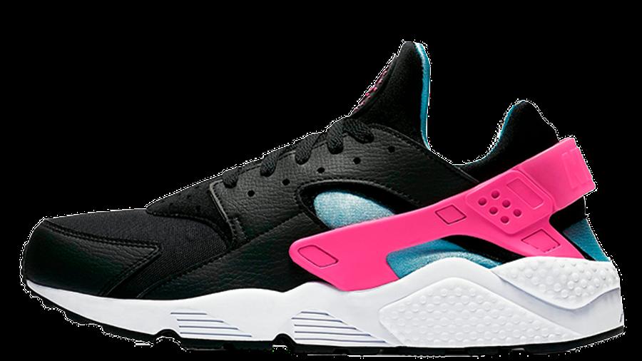 Nike Air Huarache Run Black Laser Pink